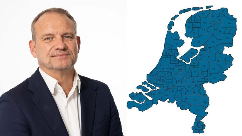 contact person, sales director, profile and map, Frans van der Graaf , Rockfon, NL