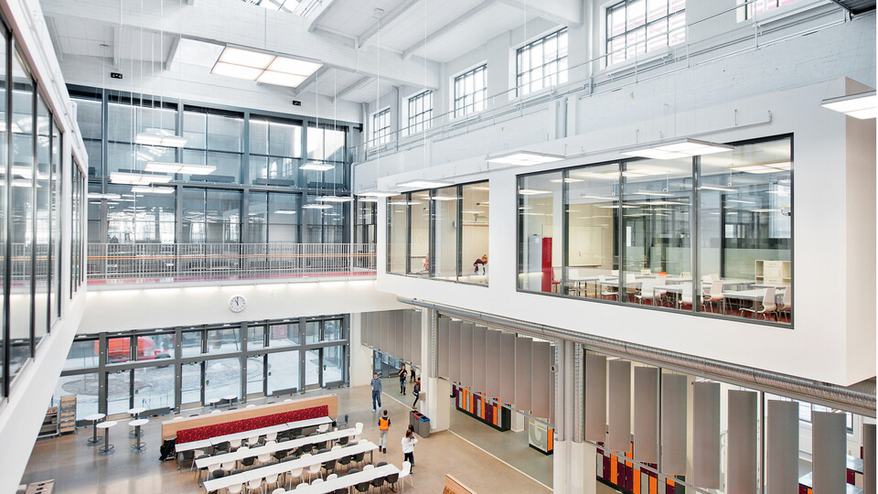 Frydenberg Skole, Multiflex Baffle, Tropic A-edge, Samson HAT, Industrial 50, education, sports