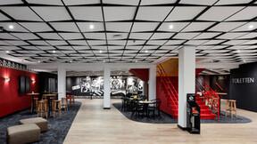 NL, Zeist, Hotel Theater Figi, Gerben van der Molen, Stars Design, Leisure, Auditorium, Concert Hall, Rockfon Blanka, A-edge, 600x600, white, T24 Black - new 3D application